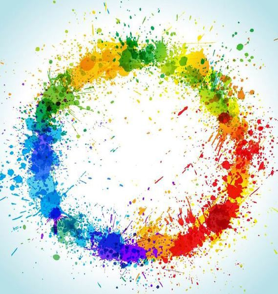 Descargar vector salpicaduras de pintura circular grungy colorida gratis 166965 cannypic - Salpicaduras de pintura ...
