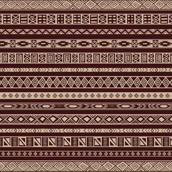 Rich Ethnic Seamless Pattern Background - vector #167005 gratis