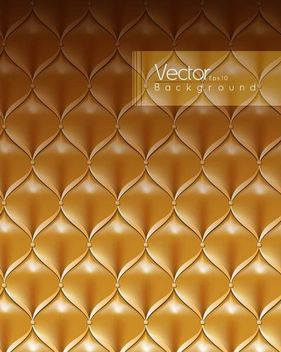 Luxurious Leathery Sofa Pattern - vector #167275 gratis