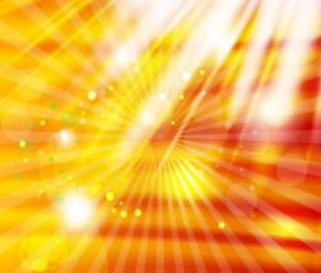 Starburst Golden Background with White Lights - Kostenloses vector #167465