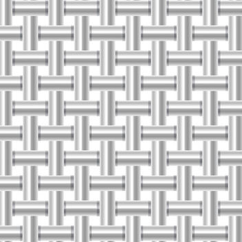 Silver Metallic Pipe Pattern Background - vector gratuit #167635