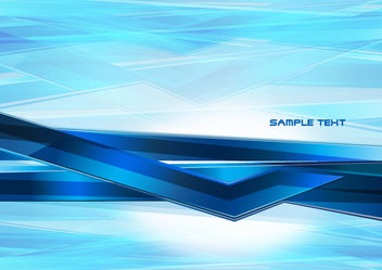 Abstract technology blue background - Free vector #168005