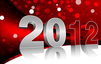 Vector New Year Design - vector gratuit #168585