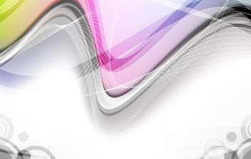 Abstract Vector Wave - vector #169015 gratis