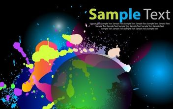 Color Abstract Background Art - vector #169025 gratis