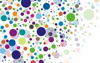 Rainbow Circles - vector #169035 gratis