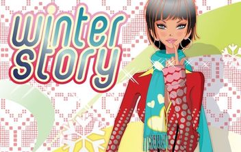 Free Vector Art Girls - Free vector #169195
