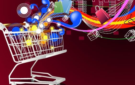 Shopping cart - Free vector #169375