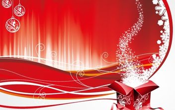 NEW YEAR THEMES WALLPAPER VECTOR BACKGROUND DESIGN ILLUSTRATOR CS4 EPS - Kostenloses vector #169545