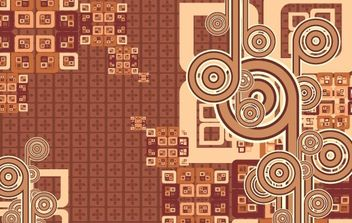 Cool Free Brown Vector Background - Kostenloses vector #169925