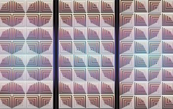 NixVex OpArt Tiles Free Vector - Free vector #169935