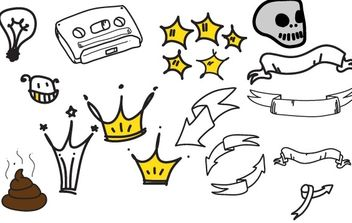 drawn - vector #169995 gratis