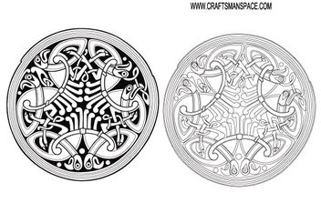 Celtic ornament - Free vector #170025