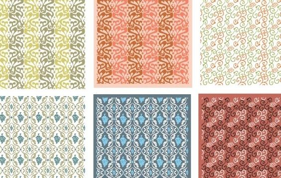 Patterns - Free vector #170085