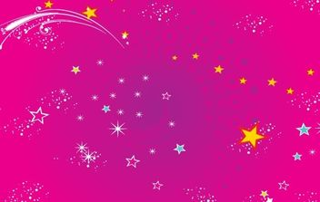 RED STARS BACKGROUND - Free vector #170095