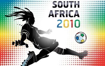 South Africa 2010 World Cup Wallpaper - Kostenloses vector #170125