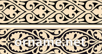 Traditional Arabian Ornamental Borders - vector gratuit #170395