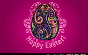 Happy Easter - vector gratuit #170965