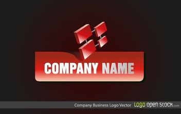 Company Business Logo - vector gratuit #170975