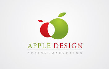 Apple Design - Free vector #171015