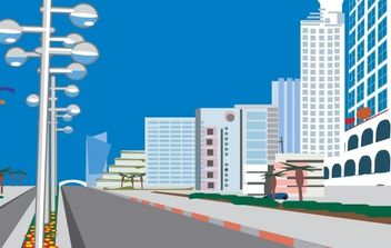 Free City Vector - vector #171135 gratis