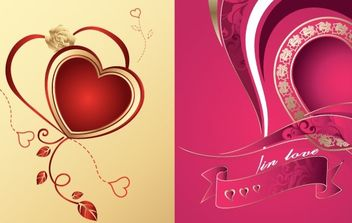 Heart Vector Illustration - vector #171155 gratis
