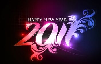 Happy new year 2011 eps Vector part05 - Kostenloses vector #171185