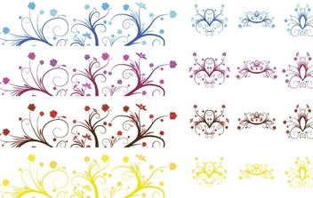 CURLY LEAVES - vector gratuit #171205