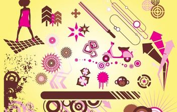 Cool Vector Graphics - Free vector #171245