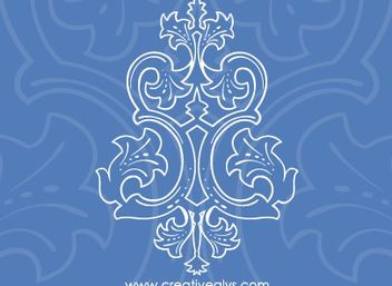 Beautiful Line Art Ornament - vector #171725 gratis