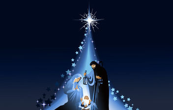 Christmas Nativity Scene 5 - Kostenloses vector #172235