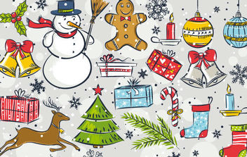 Christmas Vector Mix - vector #172245 gratis