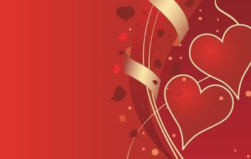 Valentines Background - vector gratuit #172405