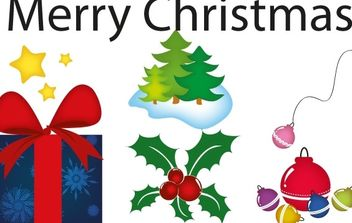 Christmas Spirit - Free vector #172475