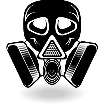 Gas mask vector - vector #173305 gratis