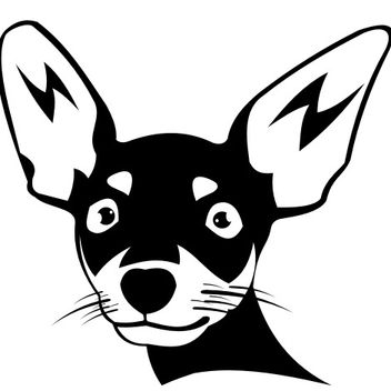 Chihuahua dog vector - бесплатный vector #173335