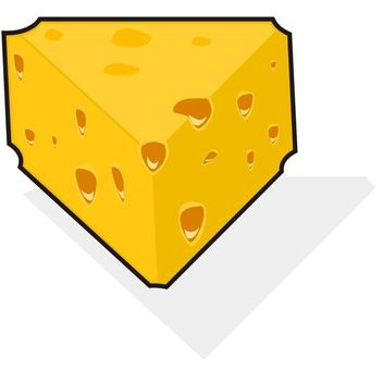 Cheese vector - vector #173505 gratis