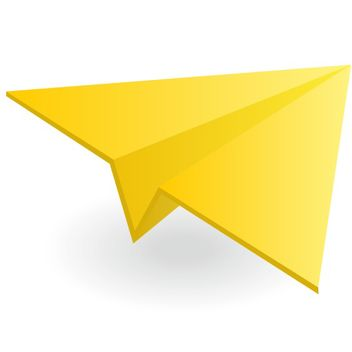 Paper airplane vector - бесплатный vector #173515