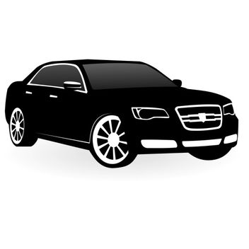 Chrysler 300c vector - Free vector #173535