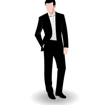 Business man vector - Free vector #173545