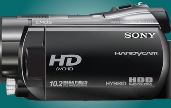Realistic Sony HDR SR11 Handycam - Free vector #173995