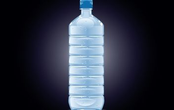 Bottle Mineral Water Filled - Free vector #174055