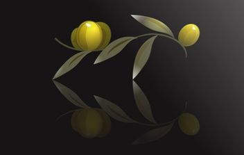 High Detail Olives Vector - vector gratuit #174395