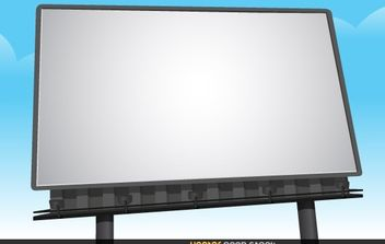 Billboard Vector - vector #174865 gratis