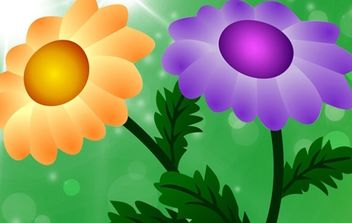 Free Vector Chrysanthemum - бесплатный vector #174945