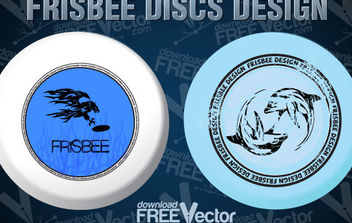 Free Frisbee Disc Design - Free vector #175015