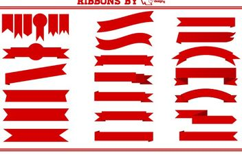 Ribbons - vector gratuit #175065