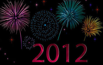 Template Poster For 2012 - vector #175155 gratis