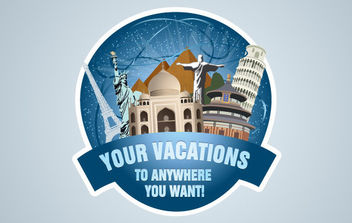 Travel Stamp - vector #175195 gratis