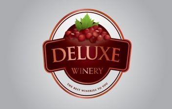 Deluxe Winery - Free vector #175965